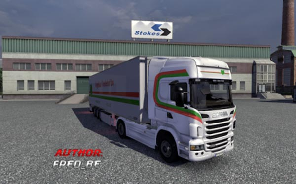 Scania R + Chereau Vogelaar Trailer