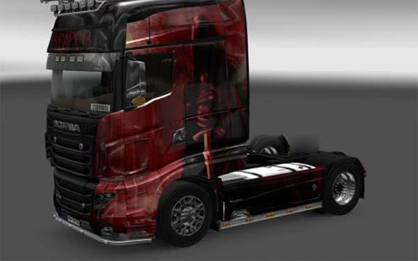 Scania R 700 Reaper skin