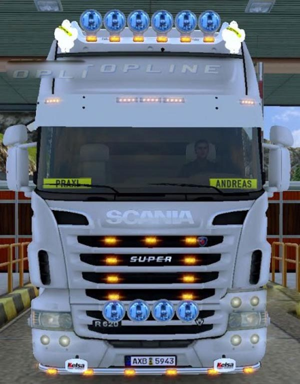 Scania R sound