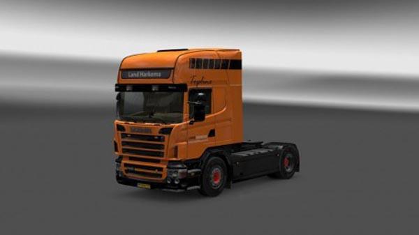 Scania R2008 Land Harkema Skin
