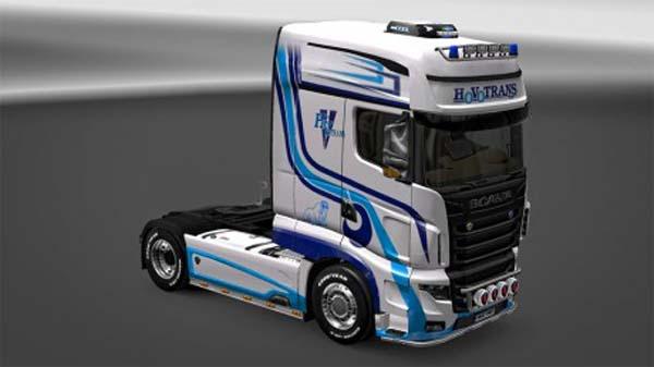 Scania R700 Hovotrans