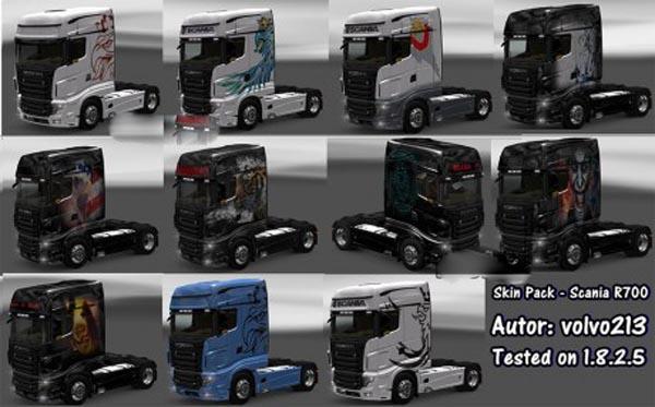 Scania R700 Skin-Pack