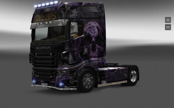 Scania R700 Skull Skin
