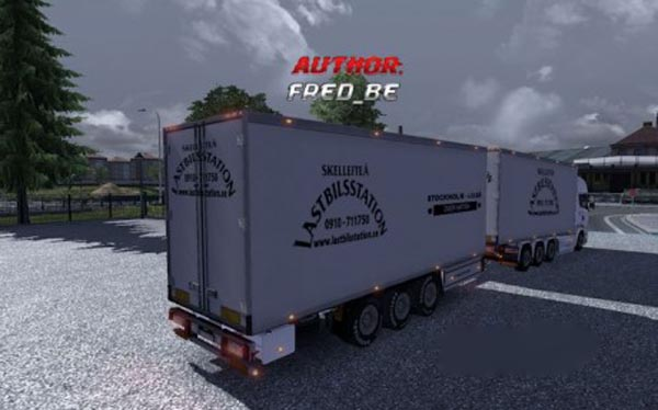 Scania Streamline Lastbilsstation