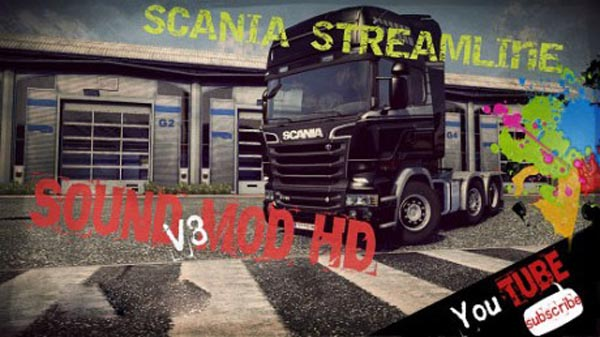 Scania Streamline V8 Revolution Sound Mod