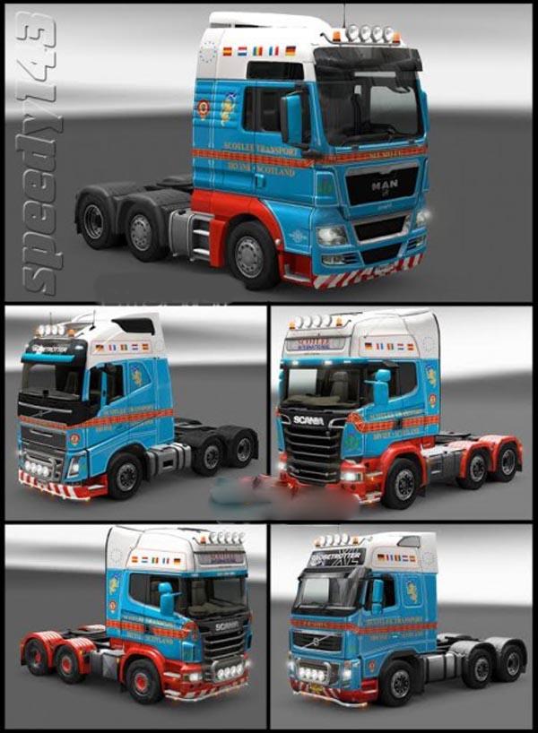 Scotlee Transport Skin Pack