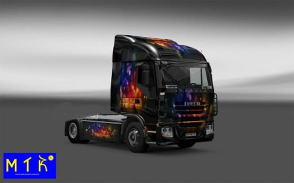 Skin Iveco Stralis Color Wall