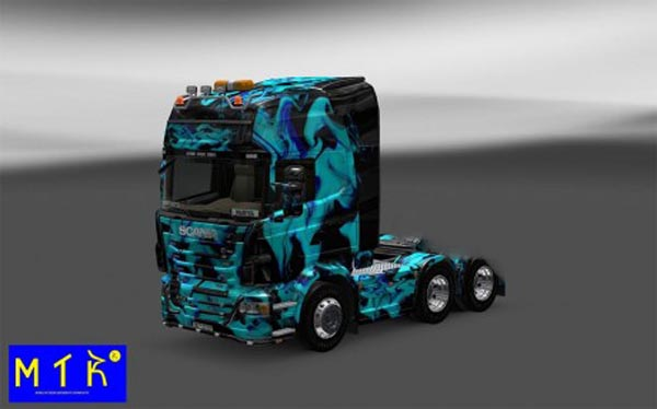 Skin Scania Green Smoke