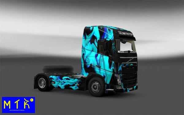 Skin Volvo FH 2012 Green Smoke