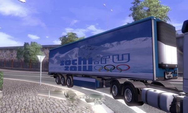 Sochi Olympics trailer skin
