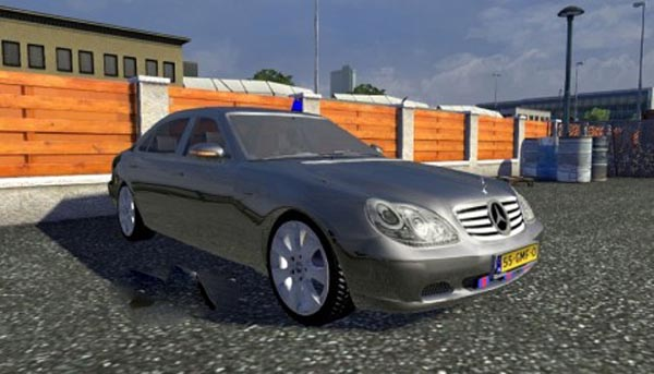Standalone AI Mercedes-Benz S600 Diplomatic Style