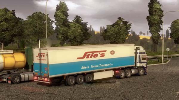 Sties trailer skin