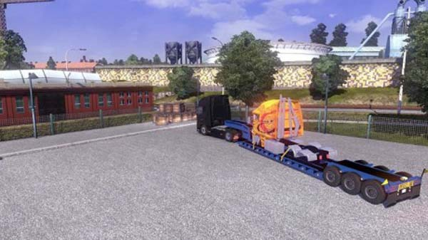 Trailer with Dissembled