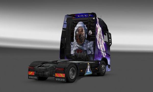Volvo FH 2012 Nasa Skin