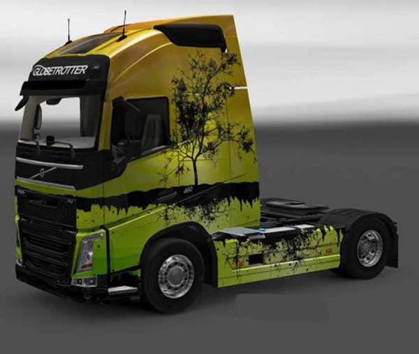 Volvo FH 2012 Planet & Floating Tree Skins