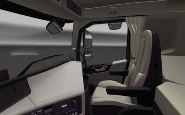 Volvo FH 2012 Realistic Interior