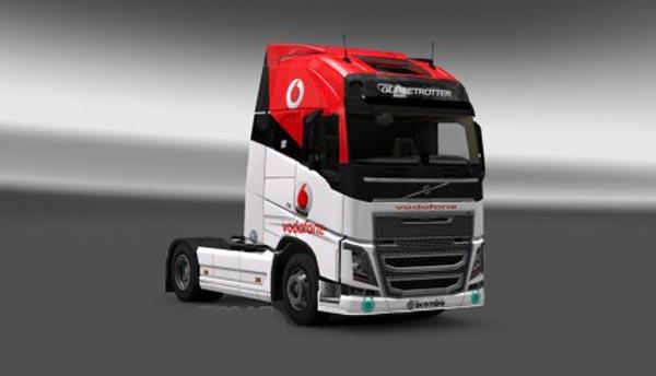 Volvo FH 2012 Vodafone Racing Skin
