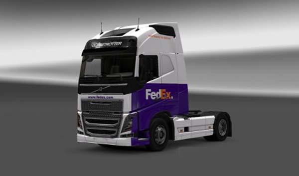 Volvo FH 2013 FedEx Skin