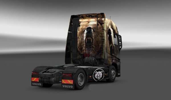 Volvo FH 2013 Grizlly Skin