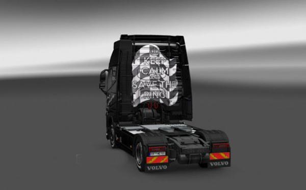 Volvo FH16 2012 Save the Ring Skin