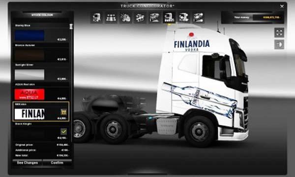 Volvo Finlandia skin