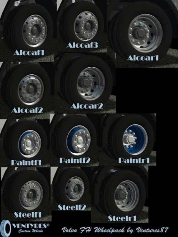 Volvo Wheel Pack