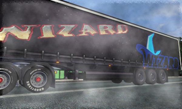 Wizard Trailer Skin