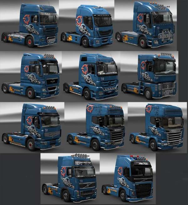 World Of Trucks Skin Pack Ets2planet Com