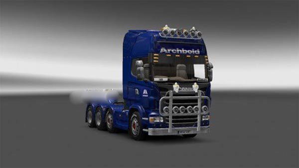 Archbolds livery for Scania r 2009