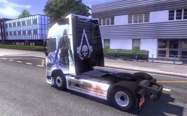 Assassin's Creed IV skin for Volvo FH 2012