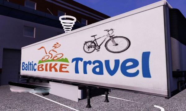 Baltic Bike Travel trailer skin