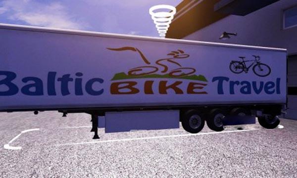 Baltic Bike Travel trailer skin