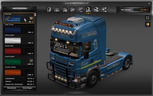 BauTrans Scania skin