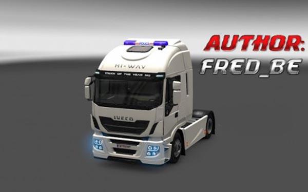 "Beacon ""POLICE"" for all trucks"
