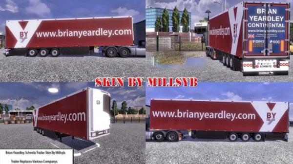 Brian Yeardley Schmitz Trailer Skin