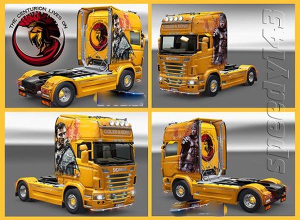 Coles Scania Centurion