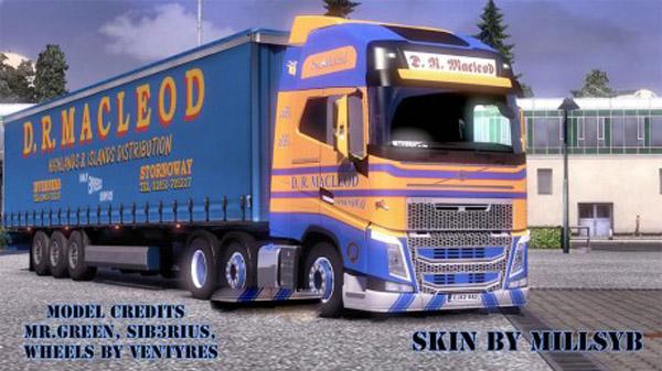 D.R. Macleod Combo Skin Pack