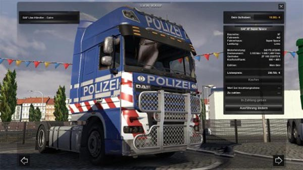 DAF Police skin