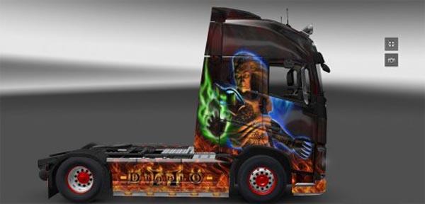 Diablo II skin for Volvo 2012