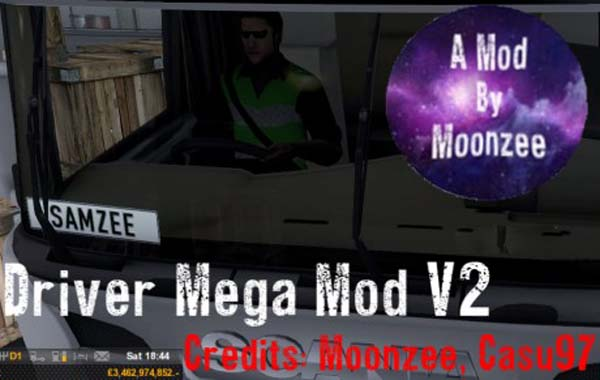 Driver Mega Mod