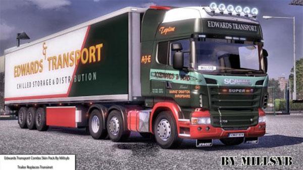 Edwards Transport Skin for Scania