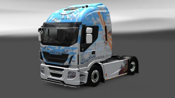 Iveco Hi Way Klanatrans Skin