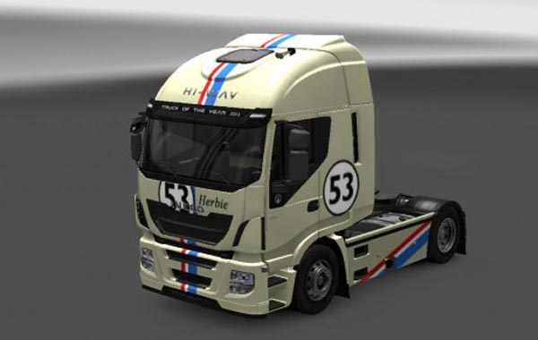 Iveco Hi Way Otelo Herbie Skin
