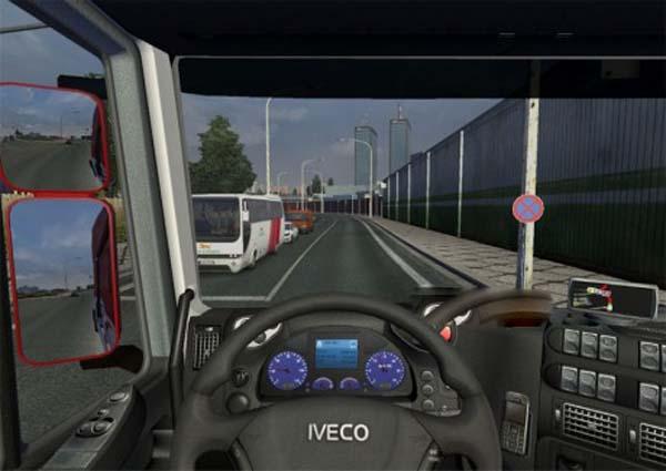 Iveco Stralis Realistic Dashboard