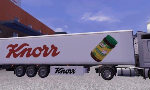 Knorr trailer skin
