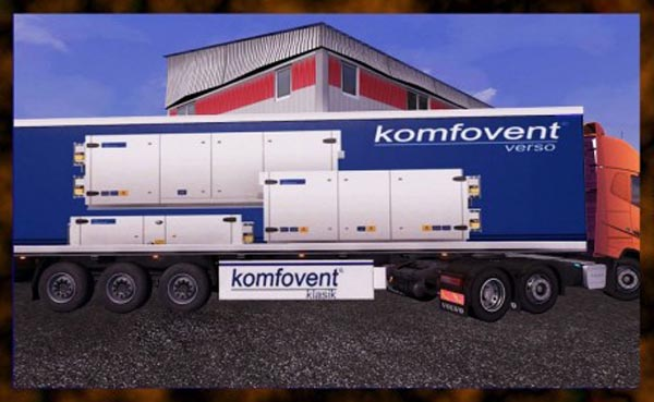Komfovent trailer skin