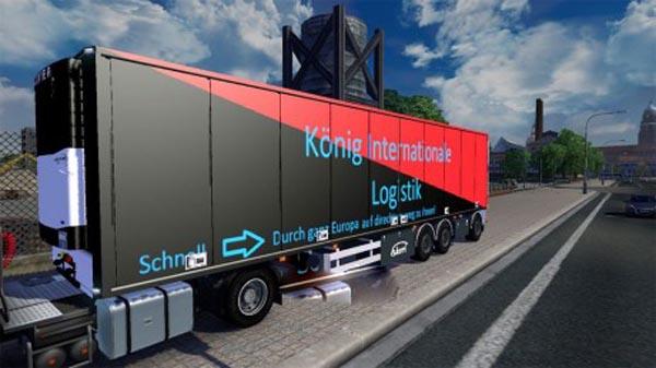 Konig Internationale Logistik Trailer