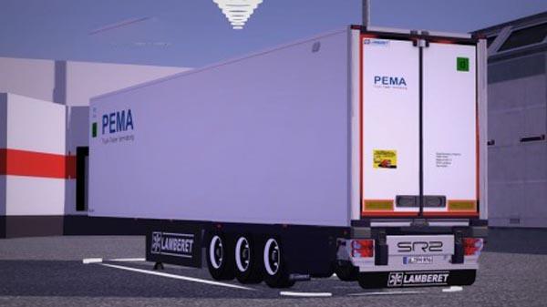 Lamberet Futura SR2 Pema Trailer