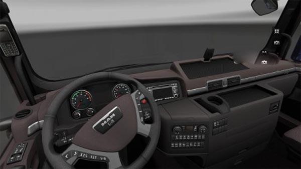 MAN Brown interior