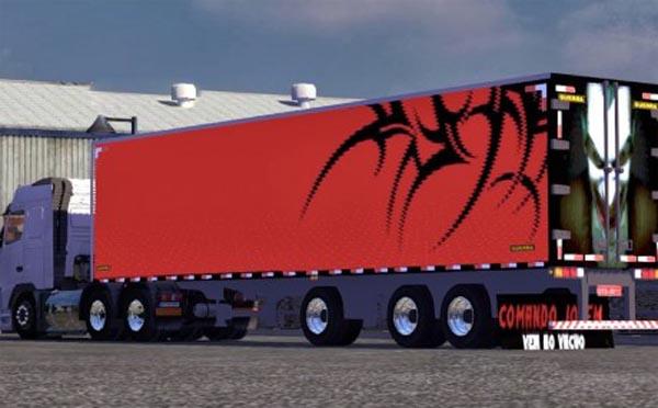 Mafia trailer skin